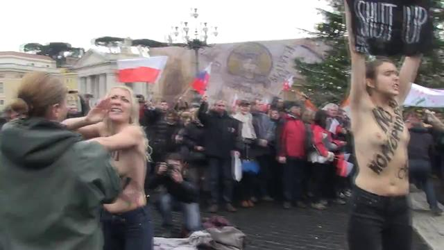 "Femen: ""Shut Up!"""