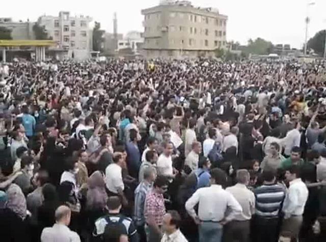 Silent Protest Tehran