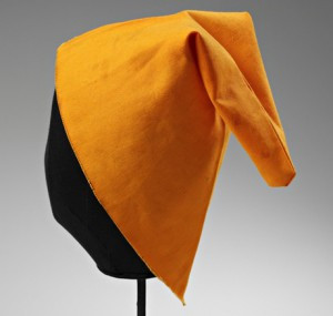 A 'revolution of dwarves hat', worn by 10,000 protesters at a march against communism in Poland.